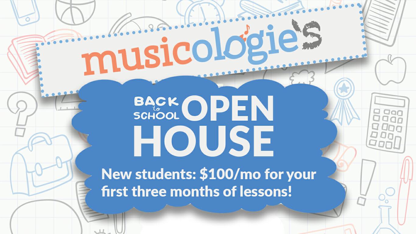 Musicologie Open House Promo